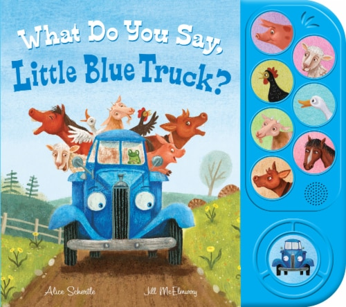 What Do You Say, Little Blue Truck? by Alice Schertle & Jill McElmurry Perspective: front