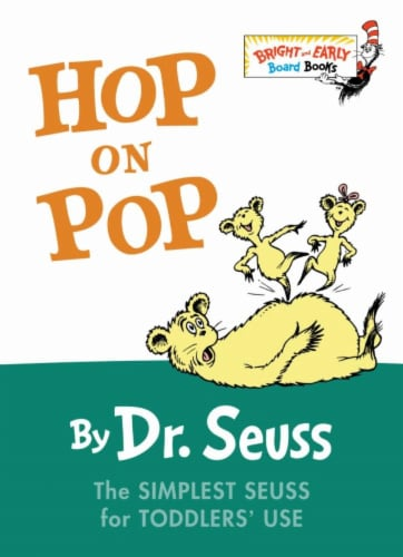 Hop On Pop by Dr. Seuss Perspective: front