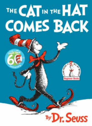 The Cat In The Hat Comes Back by Dr. Seuss Perspective: front