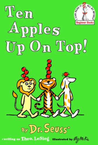 Ten Apples Up On Top! by Dr. Seuss Perspective: front