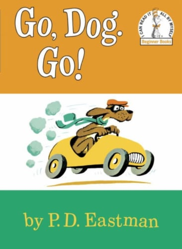 Go Dog. Go! by P.D. Eastman Perspective: front