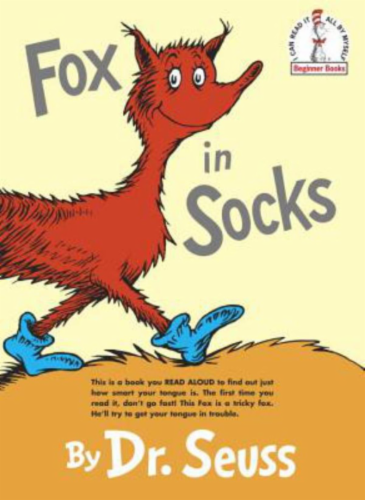 Fox In Socks by Dr. Seuss Perspective: front