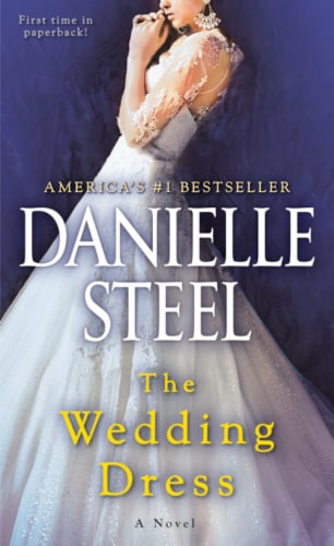 The Wedding Dress by Danielle Steel Perspective: front