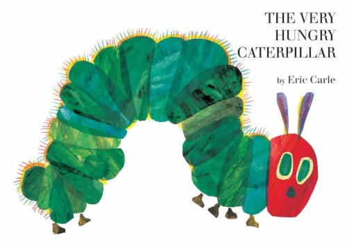 The Very Hungry Caterpillar By Eric Carle Perspective: front