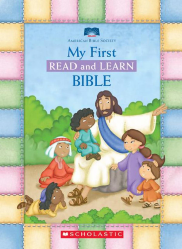 My First Read & Learn Bible by Eva Moore Perspective: front