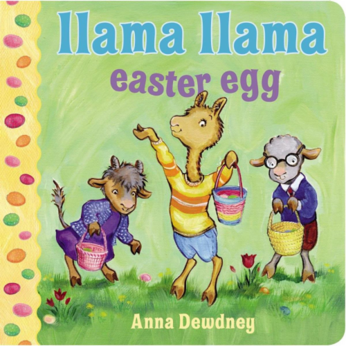 Llama Llama Easter Egg by Anna Dewdney Perspective: front