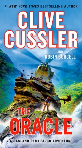 The Oracle by Clive Cussler Perspective: front