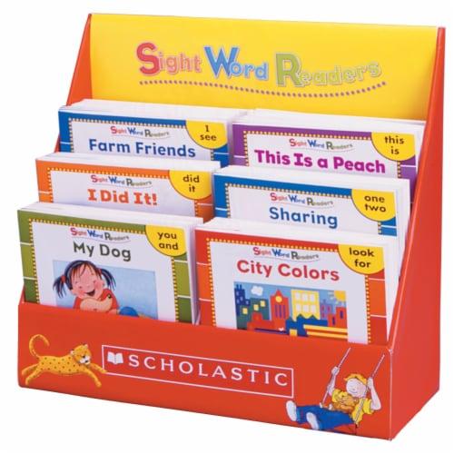 Scholastic Sight Word Readers Box Set Perspective: front
