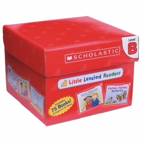Scholastic Little Leveled Readers Level B Box Set Perspective: front