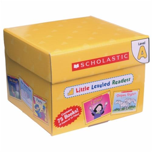 Scholastic Little Leveled Readers Level A Box Set Perspective: front