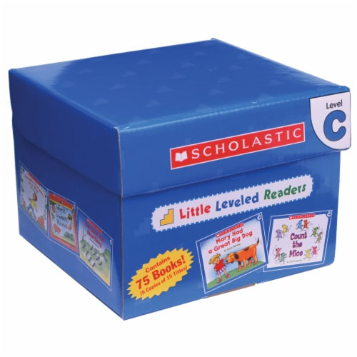Scholastic Little Leveled Readers Level C Box Set Perspective: front