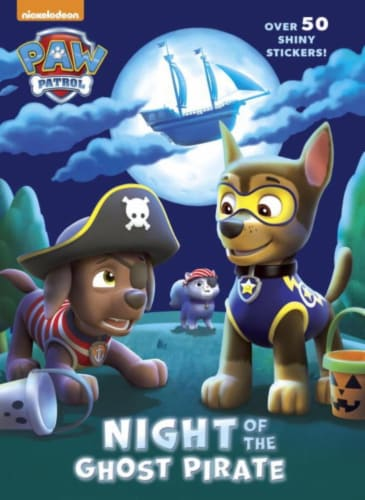 Paw Patrol: Night of the Ghost Pirate by Nickelodeon Perspective: front