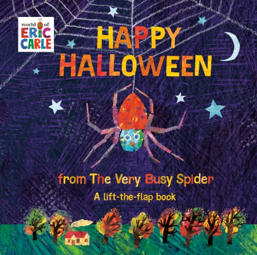 Happy Halloween from The Very Busy Spidery by Eric Carle Perspective: front
