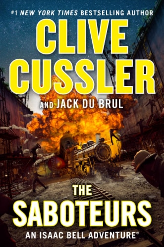 The Saboteurs by Clive Cussler and Jack Du Brul Perspective: front