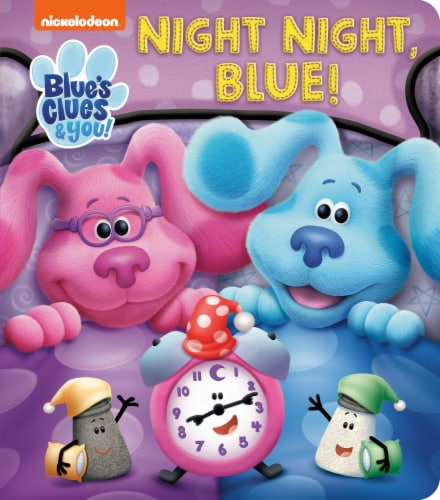 Blue's Clues & You Night, Night Blue! Perspective: front