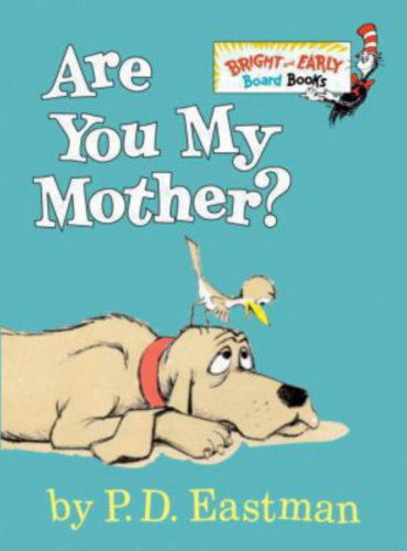 Are You My Mother by P.D. Eastman Perspective: front