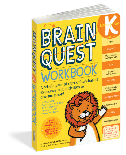 Brain Quest Kindergarten Workbook by Brain Quest Perspective: front