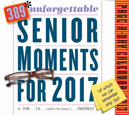 Fred Meyer Workman Publishing 2017 Page A Day 389 Unforgettable