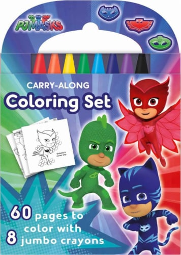 PJ Masks Carry-Along Coloring Set by PJ Masks Perspective: front