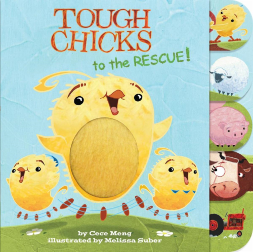 Tough Chicks To The Rescue by Cece Meng Perspective: front