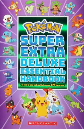 Pokémon™ Super Extra Deluxe Essential Handbook Perspective: front