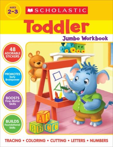 Toddler Jumbo Workbook Perspective: front