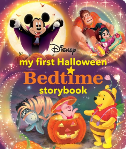 My First Halloween Bedtime Storybook by Disney Perspective: front