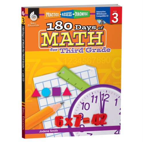 180 Days of Math for Third Grade by Jodene Smith Perspective: front
