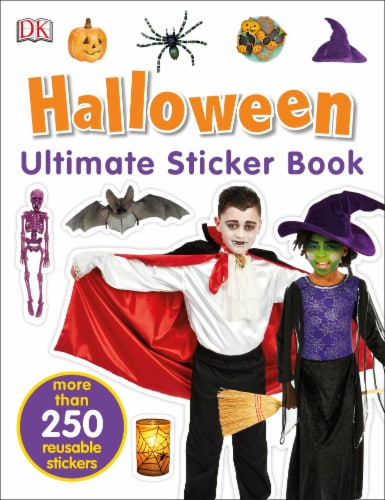 Halloween Ultimate Sticker Book Perspective: front