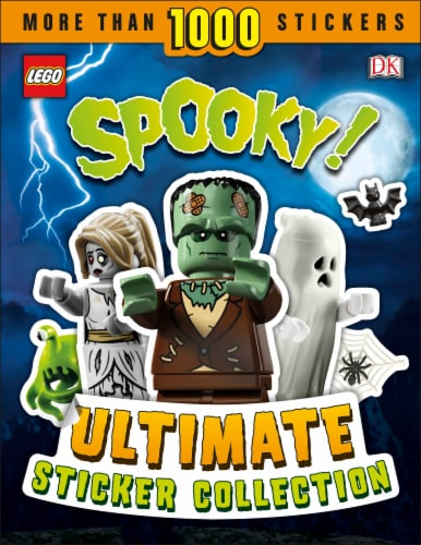 LEGO® Spooky Ultimate Sticker Collection Perspective: front
