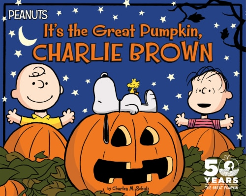 It's the Great Pumpkin Charlie Brown by Charles M. Schulz Perspective: front