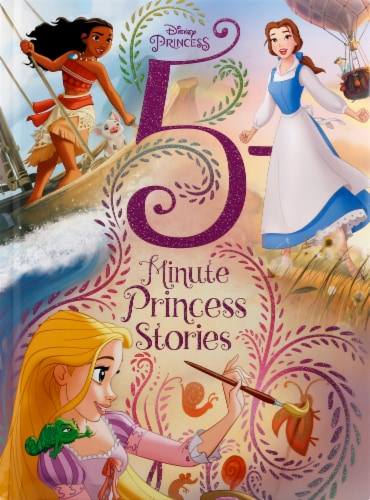 5 Minute Princess Stories by Disney Press Perspective: front