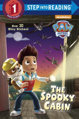 Paw Patrol: The Spooky Cabin by Nickelodeon Perspective: front