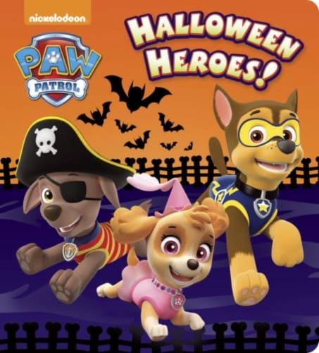 Paw Patrol: Halloween Heroes! by Nickelodeon Perspective: front