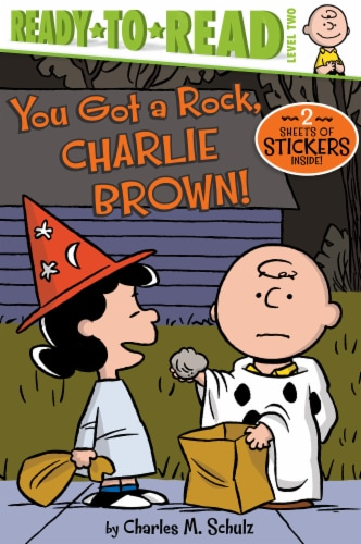 You Got a Rock Charlie Brown by Charles M. Schulz Perspective: front