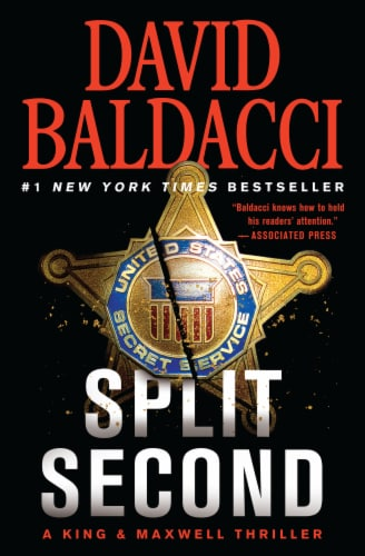Split Second by David Baldacci Perspective: front