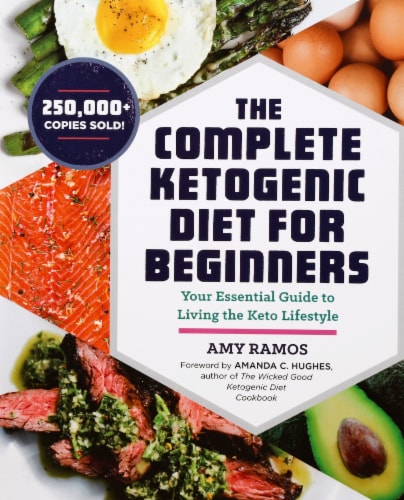 The Complete Ketogenic Diet for Beginners By Amy Ramos Perspective: front
