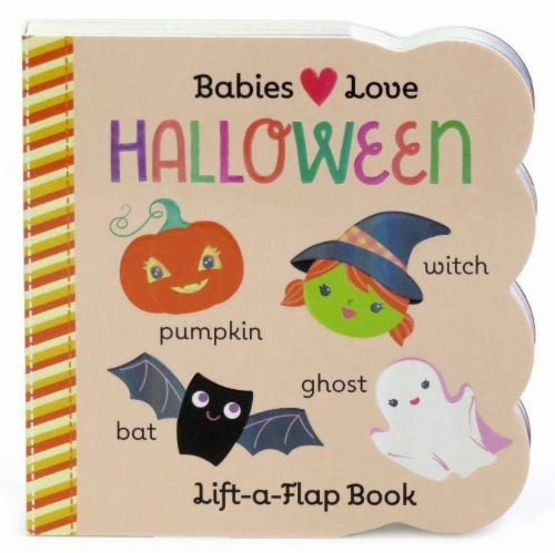 Babies Love Halloween Lift-A-Flap Book by Rosa Von Feder Perspective: front