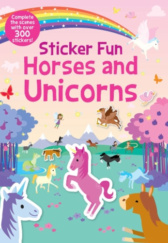 Sticker Fun Horses and Unicorns Perspective: front