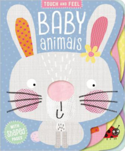 Touch And Feel Baby Animals by Make Believe Ideas Perspective: front