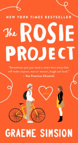 The Rosie Project by Graeme Simsion Perspective: front