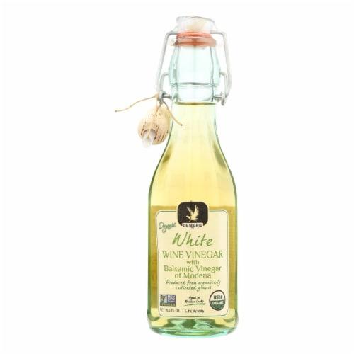 De Nigris - 100% Organic Vinegar - Balsamic White - Case of 6 - 8.5 fl oz Perspective: front