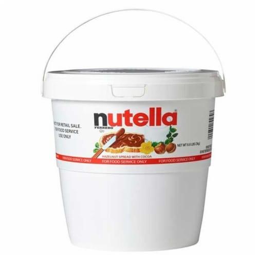 Nutella Original Hazelnut Spread, 105.8 Ounce Tub -- 2 per case. Perspective: front