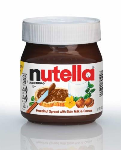 Nutella Hazelnut Spread, 13 Ounce -- 15 per case. Perspective: front