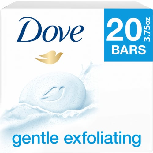 Dove Soap Bar Exfoliate Perspective: front
