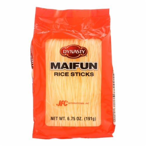 Dynasty Maifun Rice Sticks - Case of 12 - 6.75 oz. Perspective: front