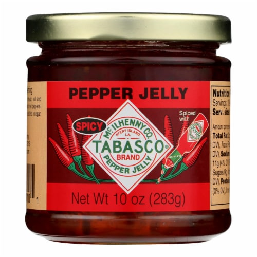 Tabasco Spicy Pepper Jelly  - Case of 6 - 10 OZ Perspective: front