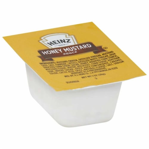 Dunk Cup Honey Mustard Sauce 100 Case 1 Ounce Perspective: front
