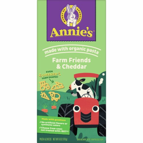 Annie's™ Farm Friends & Cheddar Macaroni & Cheese Case Sale Perspective: front