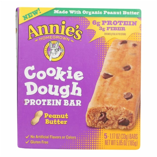 Annie's Homegrown - Kd Cookie Dgh Ptnbr Pbt - Case of 8 - 5.85 OZ Perspective: front